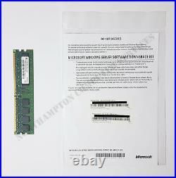 Windows Server 2008 R2 Standard & Enterprise DELL Downgrade Kit 01YJPX VAT