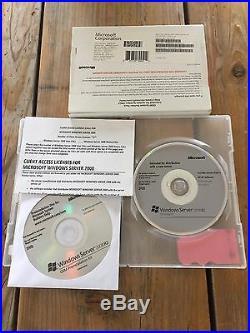 Windows Server 2008 Standard R2 5 cal eng, OEM mit MwSt-Rechnung vom Fachhändler