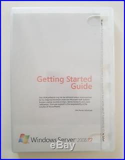 Windows Server 2008 Standard R2 inkl 5 CAL 1-4CPU 64 Bit SP1 Englisch P73-05128