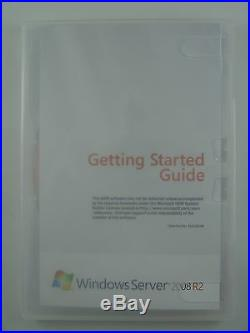 Windows Server 2008 Standard R2 inkl. 5 CAL 1-4 CPU 64 Bit Englisch P73-04849