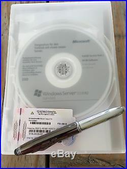 Windows Server 2008 Standard R2 mit 25 Cal und MwSt-Rechnung vom Fachhändler