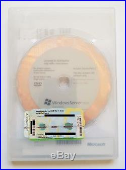 Windows Server 2008 Standard inkl. 5 CAL 1-4 CPU 32 / 64 Bit Englisch P73-04712