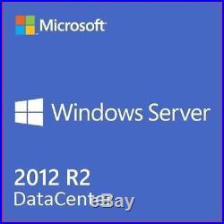 Windows Server 2012 R2 Datacenter REMOTE DESKTOP SERVICES 50 User+50 Device Cals