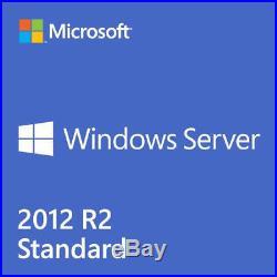 Windows Server 2012 R2 STANDARD License + FULL RETAIL PACK+ DOWNLOAD ISO