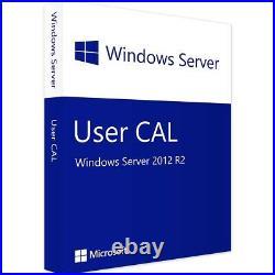 Windows Server 2012 R2 Standard + Remote Desktop Services 50 RDS User/Device CAL