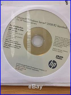 Windows Server 2012 Standard HP ROK Vollversion, (2CPU/ 2VMs) DVD, Multi