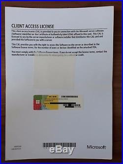 Windows Server 2012 Standard R2 RDS /Terminal Server 5 Cal Device Geräte Lizenz