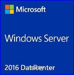 Windows Server 2016 Datacenter 16 Core+20 usr CAL Retail x64 Install ISO
