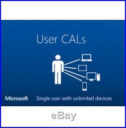 Windows Server 2016 Datacenter x64 Full 16 Core License + 25 user CAL + Install