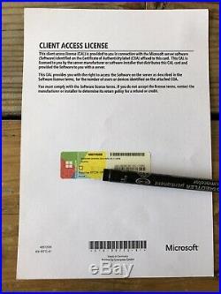 Windows Server 2016 RDS /Terminal Server 5 Cal user/ Benutzter mit MwSt Rechnung