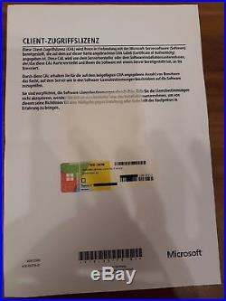 Windows Server 2016 Standard Device / Geräte 5 CAL Erweiterungslizenz Lizenz