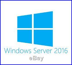 Windows Server 2016 Standard OEM/DSP/SB DVD 16Core EN, P73-07113, 889842165739