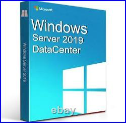Windows Server 2019 Datacenter Edition with 50 CALs. New, complete, retail