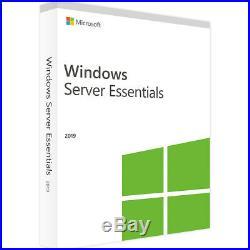 Windows Server 2019 Essentials 32&64 Bit (WIN SERVER 2019) Product-Key