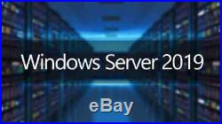 Windows Server 2019 Standard 16 Core & 25 usr CAL Retail x64 Install ISO