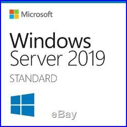 Windows Server 2019 Standard 16 Core Full License x64 dl + 50 User RDS CAL