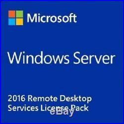 Windows Server RDS CAL 2008-2012-2016-2019 User-Device 5-10-20-50 License