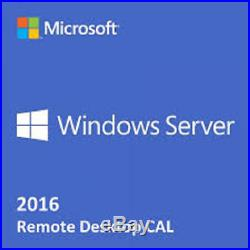 Windows Server Remote Desktop CAL RDS License, TS Terminal Services, UserDevice
