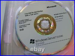 Windows Server Standard 2008 R2 w. SP1 64-bit English with 5 Client Licence