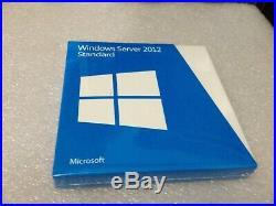 Windows Server Standard 2012 Full Retail Version