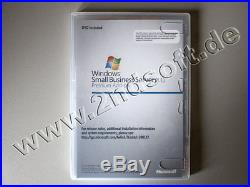 Windows Small Business Server 2011 Premium Add-on, SKU 2XG-00155 m. SQL 2008 R2