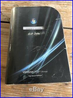 Windows Vista Ultimate Signature Edition Bill Gates Englisch mit MwSt Rechnung