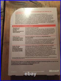 Windows Web Server 2008 R2, Deutsch DVD, Vollversion mit MwSt-Rechnung