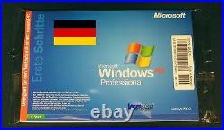 Windows XP Professional Vollversion + Hologramm-CD SP2 SB System Builder OVP NEU