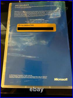 Windows XP x64 Commemorative Edition Signed by Developers